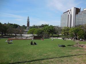 Parc quartier de Retiro