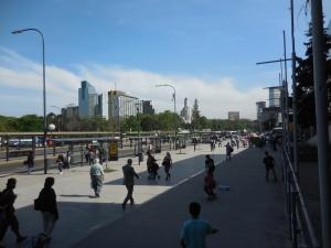 Quartier de Retiro près de la gare