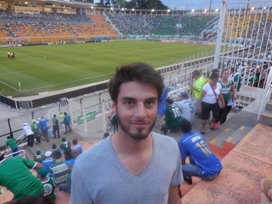 Match de foot au Brésil